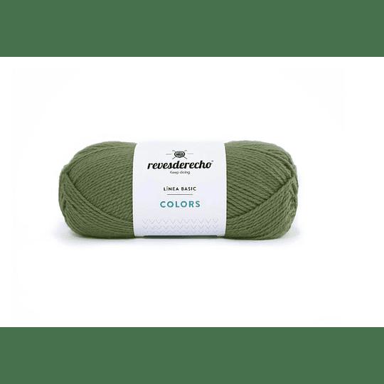 Lana Colors verde cuerda 7402