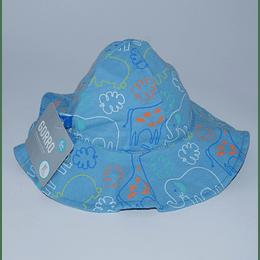 Gorro Bebé Diseño/fauna-celeste