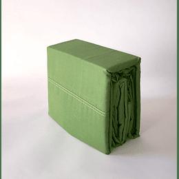 Juego de sábanas 48/52%  king verde