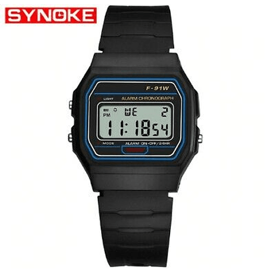 reloj retro Digital  Synoke