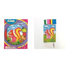 Kit imagina crea alinsa ardilla mosaico