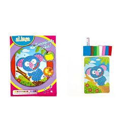 Kit imagina crea alinsa koala mosaico