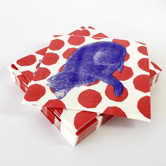 20 servilletas de papel impreso ( 3 hojas) 33x33 cm casaideas