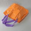 Bolso inflable anaranjado