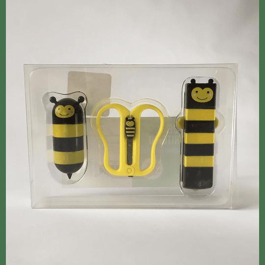 Set de escritorio abejas