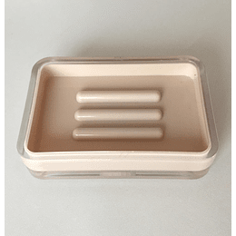 jabonera acrilico beige