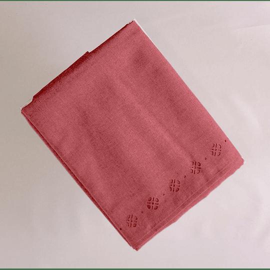 Mantel rectangular 170cm x 280cm color rojo