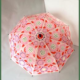 paraguas rosado print