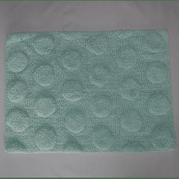 alfombra de baño turquesa claro casaideas
