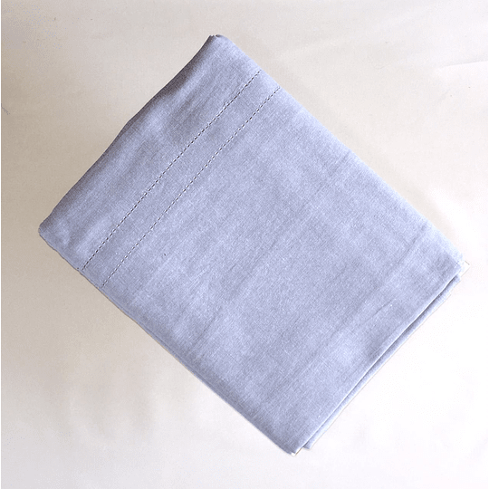 Mantel rectangular 280cm x 180  celeste