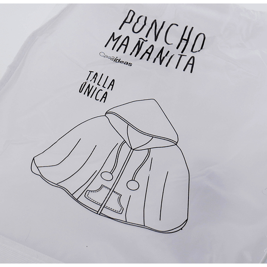 Poncho Mañanita