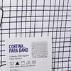 Cortina de Baño Print-floral-blz