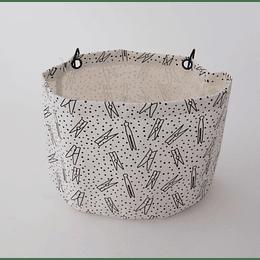 Contenedor de Pinzas Ropa Textil