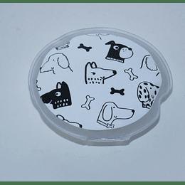Calentador de Manos Estampado Perritos