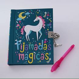 Diario para Scrapbook Pijamada 6+años