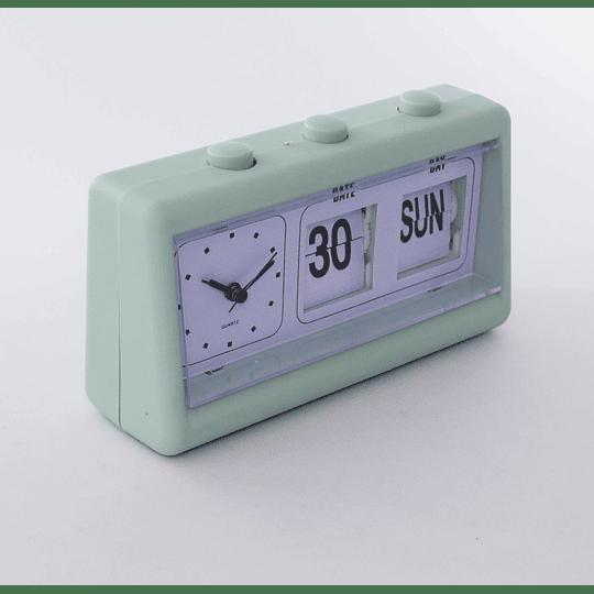 Reloj Mesa Calendario