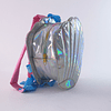 Mochila Diseño  holográfico-plateado