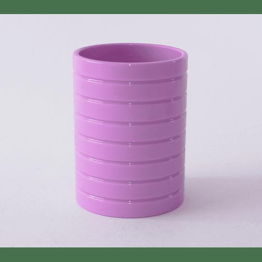 Vaso Baño lila