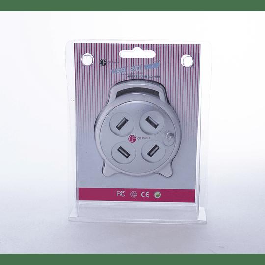 Hub 4 Puertos USB 2.0 CP Print