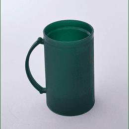 Vaso Schop Plástico Refrigerable verde