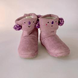 pantufla talla 31/32 rosada