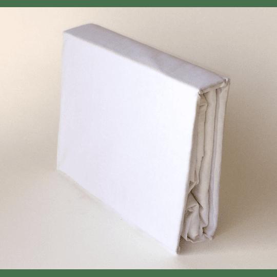 Faldón 144 hilos Blanco 2 plazas