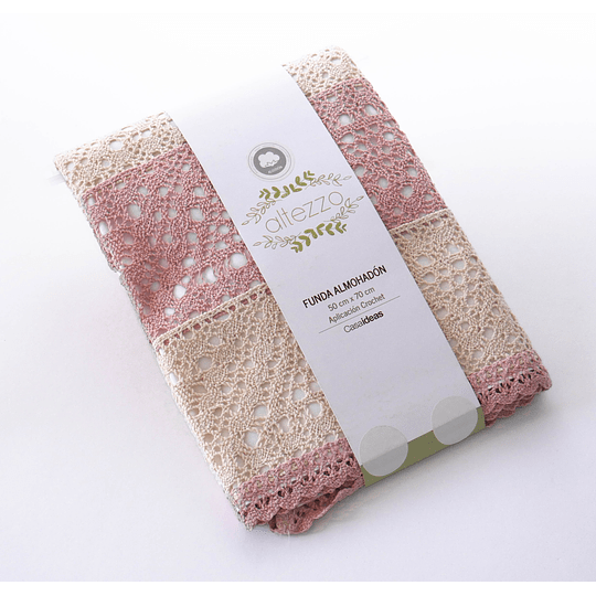 Funda Almohadón Crochet New