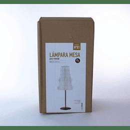 Lámpara Mesa PVC - Metal Soho