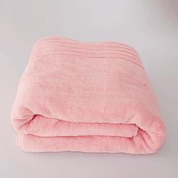 Toalla  de Baño rosada 70 por 140