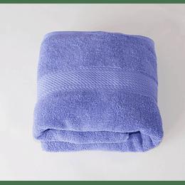 Toalla azul violeta 70 por 140