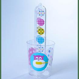 Set Vaso Porta Cepillo Dientes
