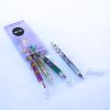 Se 4 Lápices Tinta Gel Metalizados