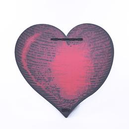 Corazón Adorno Portallaves Armable
