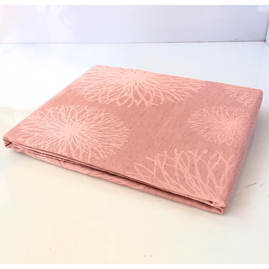 Mantel rectángular 150x210 rosado