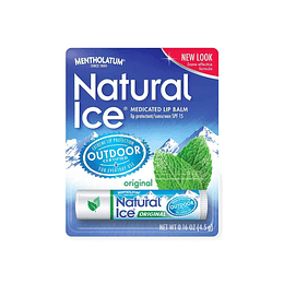 Balsamo labial Natural ice  menta