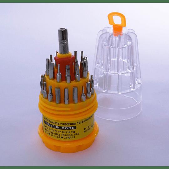 Set Destornilladores 31pz  Telecommuncation Tools