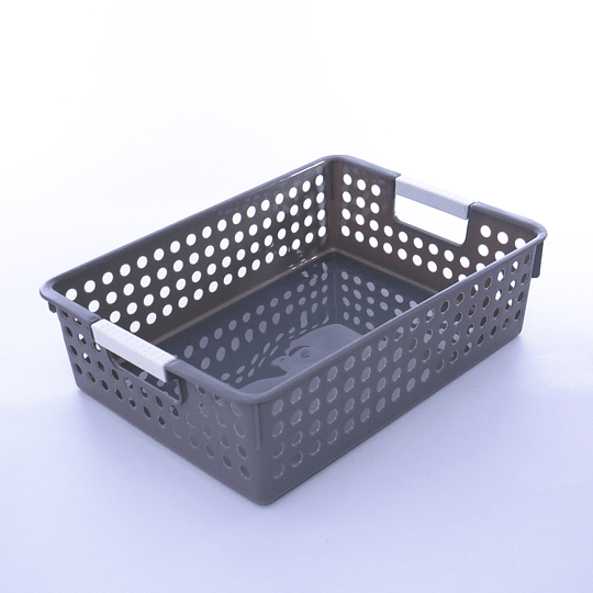 Canasto Organizador Plástico 30x21x8,5