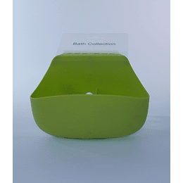 Organizador Baño Succión Verde