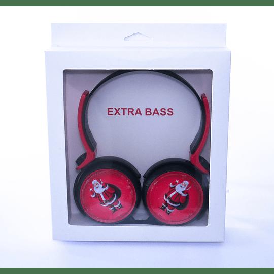 audifono extra bass viejito pascuero