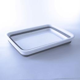 Fuente colapsable silicona/plastico