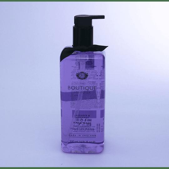 Jabón de manos inglés lavender & bergamot the boutique collection
