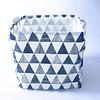 Organizador tela estampado triangulos grises