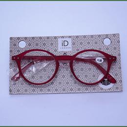 Lentes Opticos 1,5 Rojo