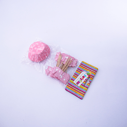 Set de cápsulas party time  it´s a girl baby shower