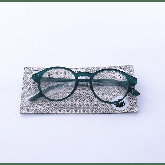 Lente optico lectura verde +1.00