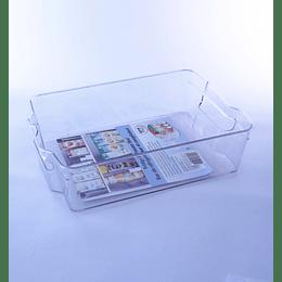 Organizador Refrigerador Plástico Transparente M