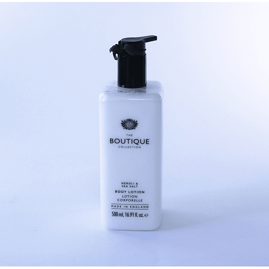 crema de manos inglés Neroli & Sea Salt boutique collection
