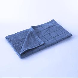 Paño Cocina -Toalla Qingchen 35x75 Cuadriculado Azul