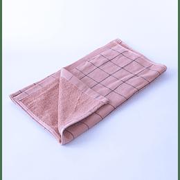Paño Cocina -Toalla Qingchen 35x75 Rosado cuadriculado