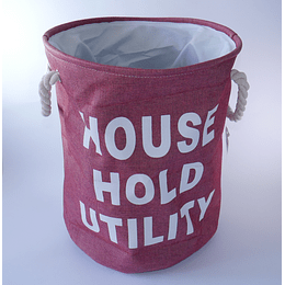 Organizador Tela L House Utility Burdeo